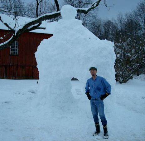 M.A.Orthofer and snowman